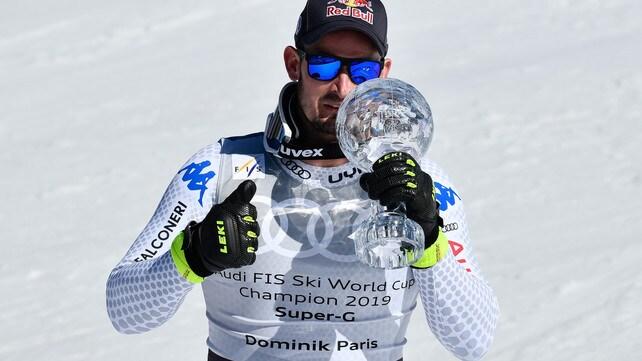 Sci, Dominik Paris SuperGigante!  La Coppa di cristallo è sua