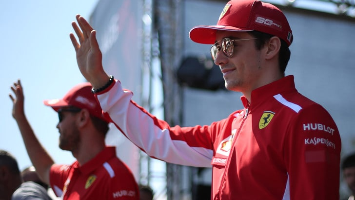 F1 Ferrari, Leclerc: «Voglio far bene in pista, il team ha avuto fiducia»