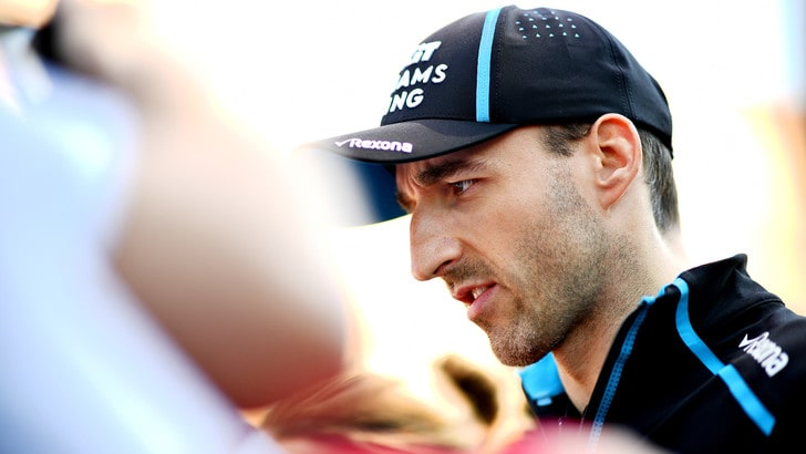 F1 Williams, Kubica: «Ho sperato in questo momento»