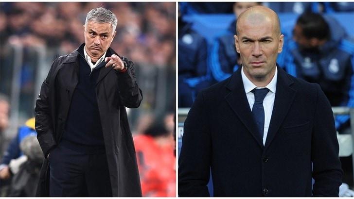 Mourinho: «Zidane è perfetto per il Real Madrid»