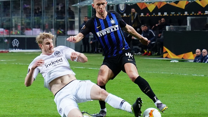 Europa League Inter-Eintracht 0-1, il tabellino