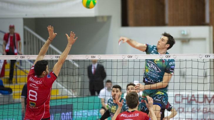Volley: Champions League, Perugia testa e cuore, vittoria al tie break