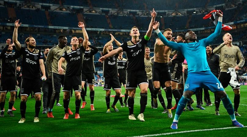 Ajax nel gotha d'Europa grazie al suo vivaio
