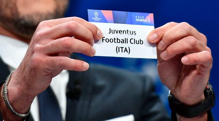 Sorteggi quarti Champions League: la Juve pesca l'Ajax