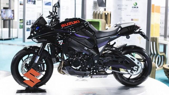 La Suzuki Katana presentata a Milano - LE FOTO