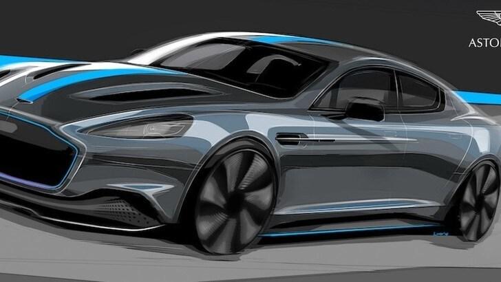 Aston Martin Rapid E, James Bond passa all'auto elettrica