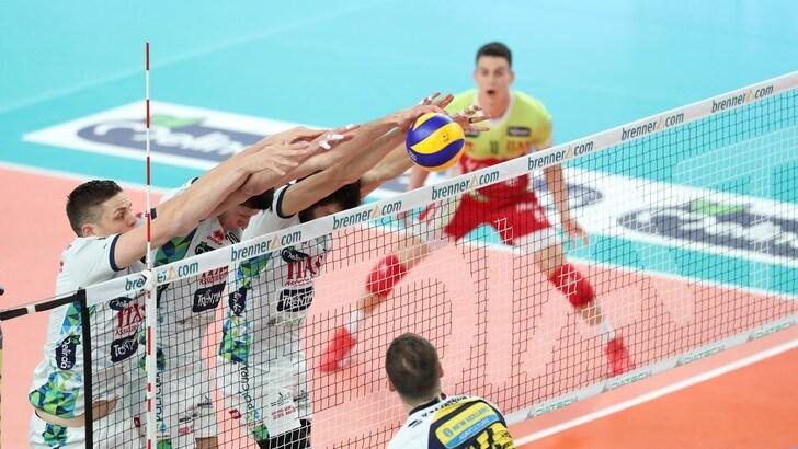 Volley: Superlega, nella 12a giornata spicca la sfida fra Modena e Trento