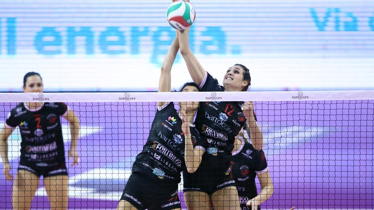 Volley: A2 Femminile, Perugia-Martignacco è l'antipasto della 6a giornata