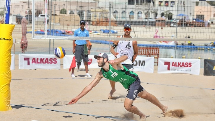 Beach Volley: Lupo-Nicolai a Doha cadono ai Quarti