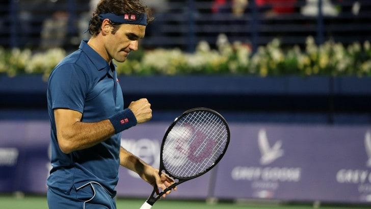 Tennis, Federer in semifinale, sfida numero 39 con Nadal