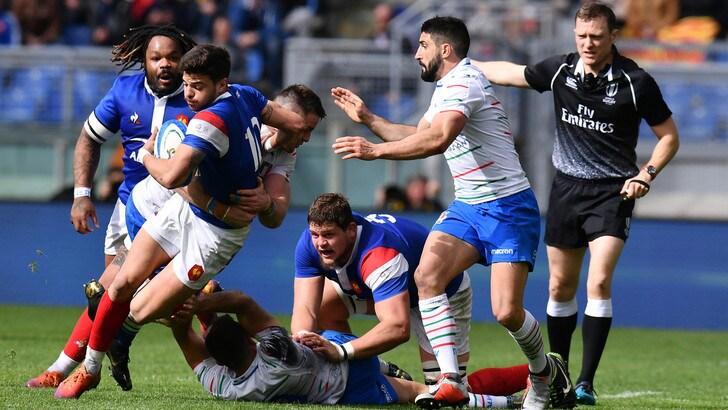 Rugby Sei Nazioni, per l'Italia ennesimo ko: vince la Francia 14-25