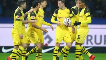 Bundesliga, il Borussia Dortmund batte l'Hertha in extremis. Lipsia corsaro