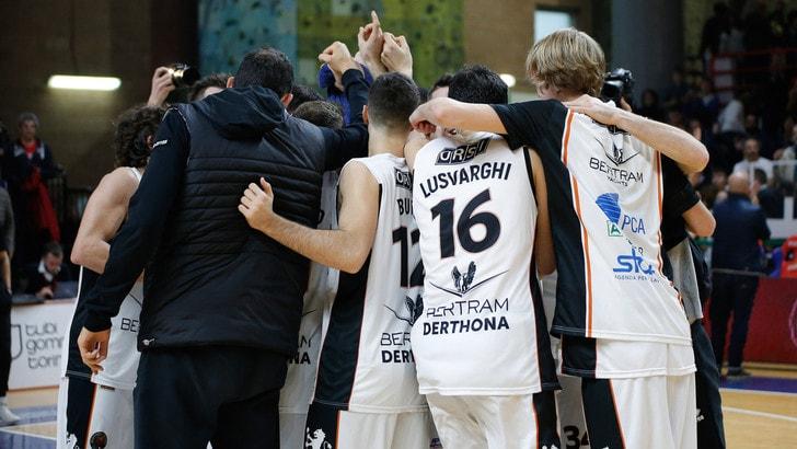 Basket Serie A2, Tortona batte Agrigento. Bergamo crolla a Latina