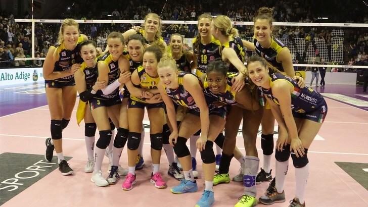 Volley: A1 Femminile, per Conegliano vittoria a Cuneo e primo posto matematico