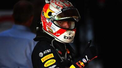 F1 Red Bull, Verstappen: «Inizio positivo, contento del podio»