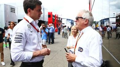 F1 Mercedes, Wolff: «Sorpresi dalla nostra velocità»