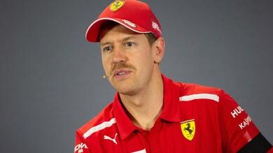F1 Ferrari, Vettel: «Dobbiamo capire cosa è successo»