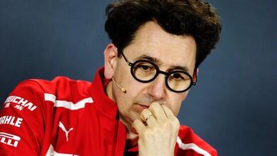 F1 Ferrari, Binotto: «Non abbiamo sfruttato il nostro potenziale»