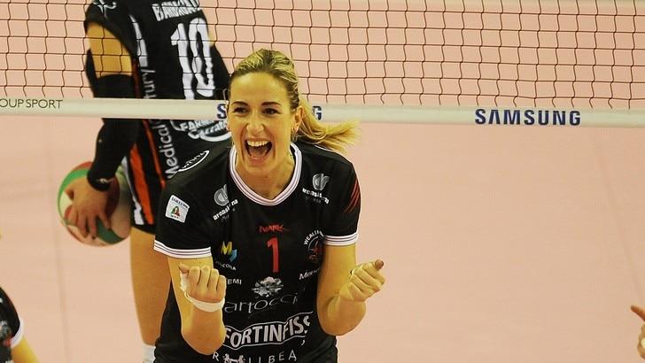 Volley: A2 Femminile, riscatto Perugia, battuto Martignacco