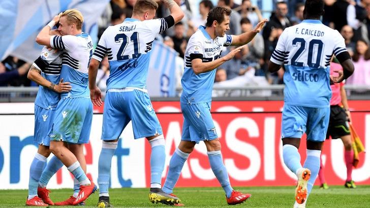 Serie A Lazio-Parma 4-1, il tabellino