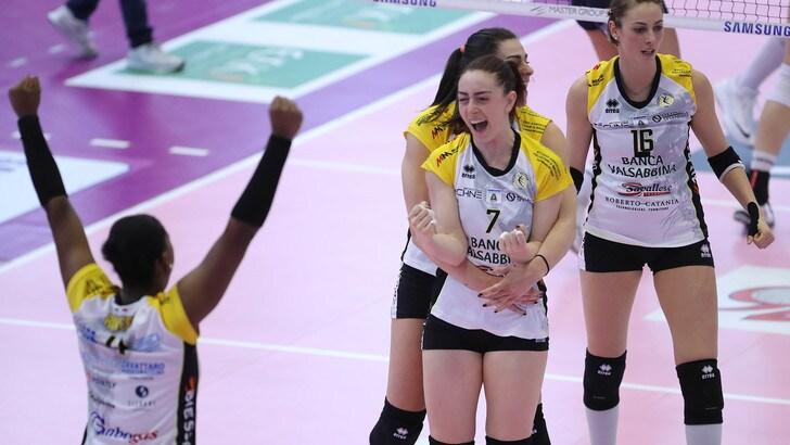 Volley: A1 Femminile, vittorie per Brescia, Monza e Casalmaggiore