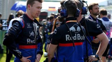 F1 Toro Rosso, Kvyat: «Il mio punto più faticoso»