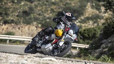 Nuova Moto Guzzi V85 TT: la prova