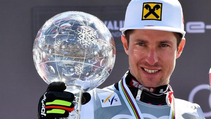 MotoGp: l'asso dello sci Hirscher prova la KTM con Zarco