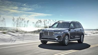 Nuova BMW X7: prima prova negli States