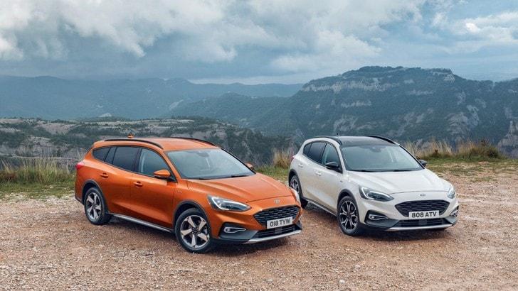 Crossover, Ford punta su Focus Active