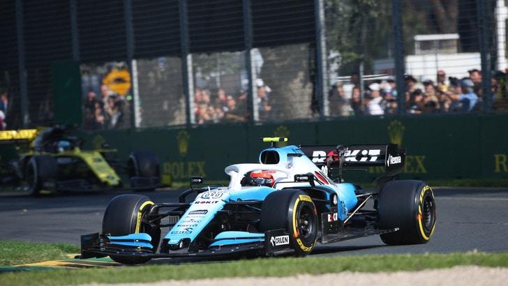 F1 Williams, Kubica: «Sono comunque felice del ritorno»