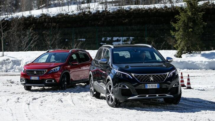 Peugeot, il Grip Control ti fa sentire su una 4x4