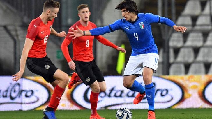 Under 21, Italia-Austria 0-0: manca il gol, Audero salva gli azzurrini