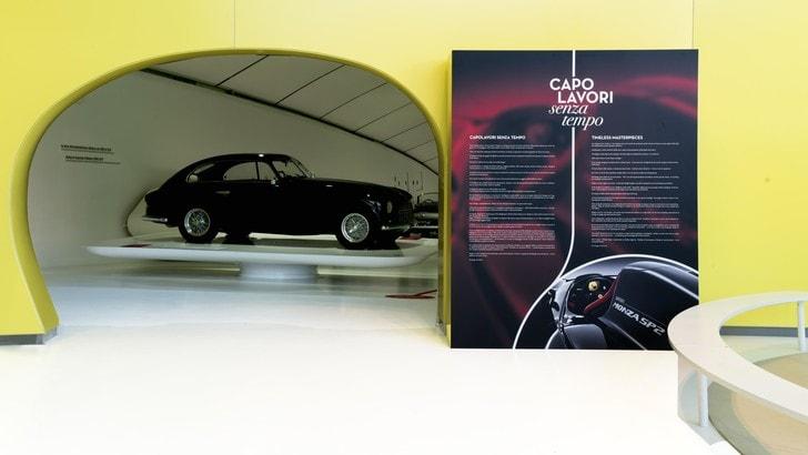 """Ferrari, mostra """"Capolavori senza tempo"""": le foto"""