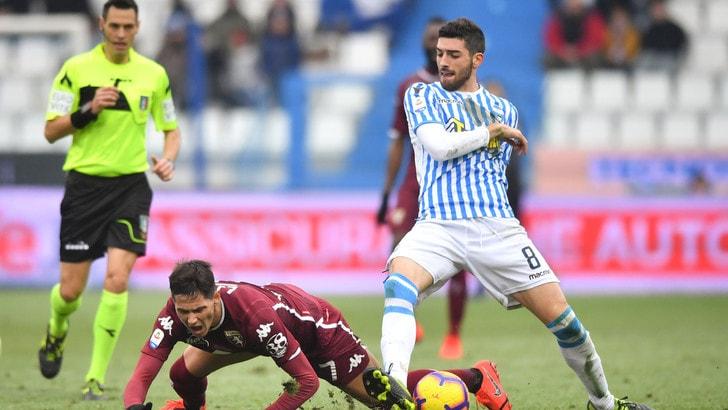 Serie A Spal, Valoti out: solo terapie e lavoro specifico