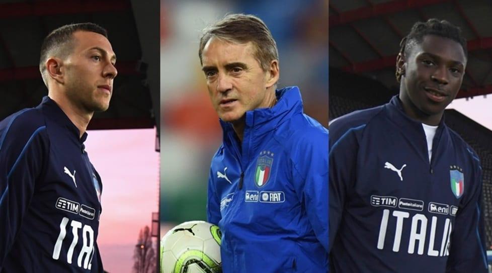 <p>Le scelte del ct azzurro per la prima sfida di qualificazione ad Euro 2020, in programma questa sera a Udine:&nbsp;4-3-3 con Bernardeschi e Kean titolari</p>