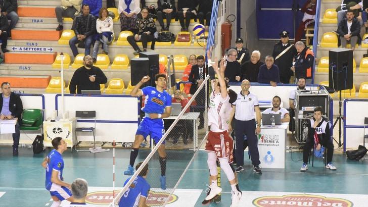 Volley: A2 Maschile, Girone Blu, Gioia Del Colle rimonta e batte il Club Italia