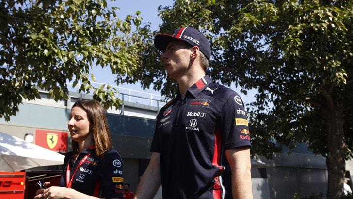 F1 Red Bull, Verstappen: «Dobbiamo rimanere con i piedi per terra»