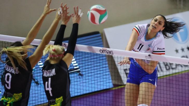 Volley: A2 Femminile, Caserta stoppa Perugia, Trento a tre punti dalla vetta