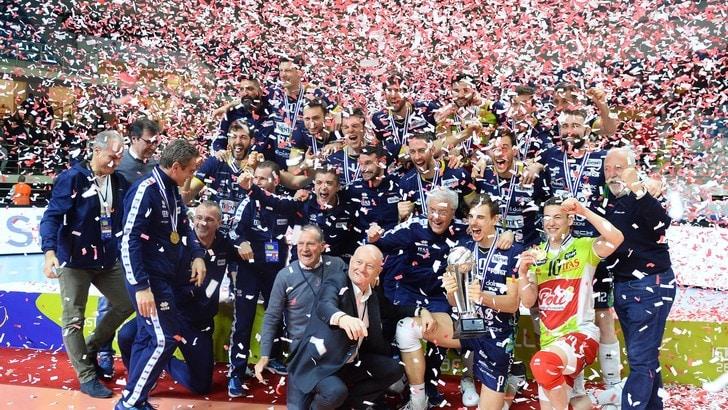 Volley: Cev Cup, Trento espugna Istanbul, la Coppa è sua !
