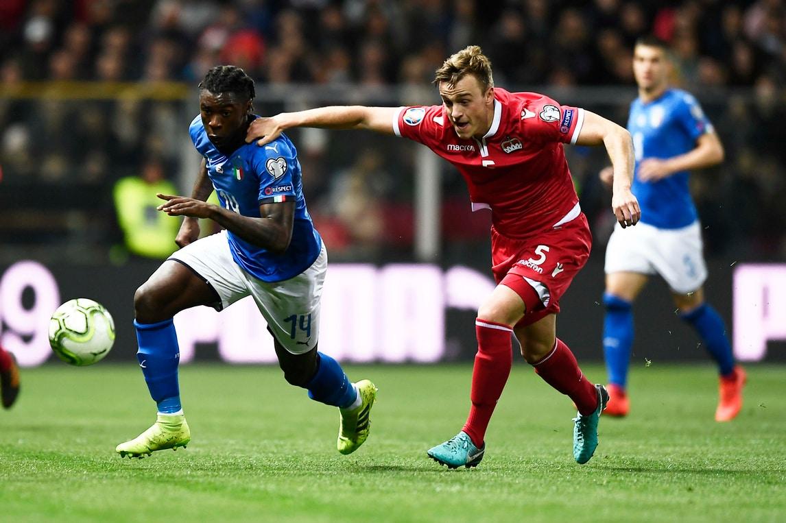 Italia, che goleada al Liechtenstein: altro gol per Kean