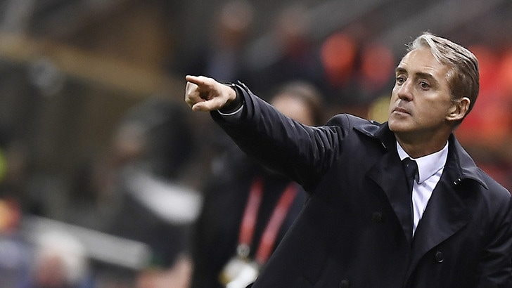 Italia, Mancini: «Giusta concentrazione. Balotelli? Non può piacere a tutti»