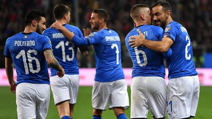 Italia-Lichtenstein 6-0: Kean ancora in gol!