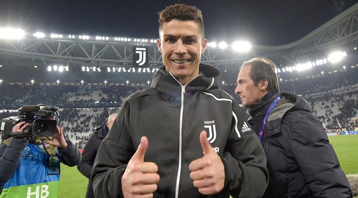 Juve, Ronaldo è sereno e punta l'Ajax: «Mi conosco, ci sarò»