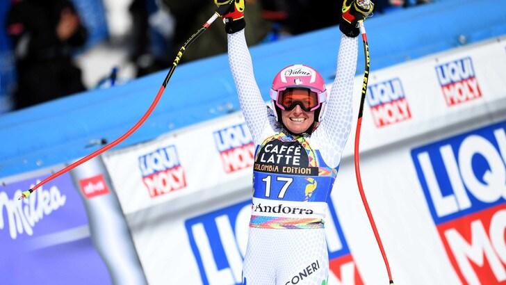 Sci, Nadia Fanchini è la regina italiana della velocità