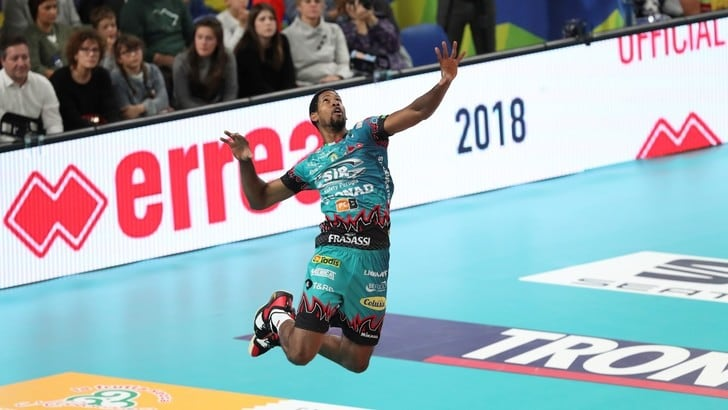 Volley: Superlega, MVP di marzo è Wilfredo Leon