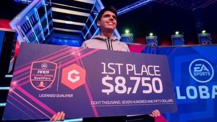 Nicolas Villalba conquista la terza edizione delle Gfinity FIFA Series