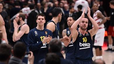 Basket, Eurolega: l'Olimpia cade ancora, vince il Fenerbahce