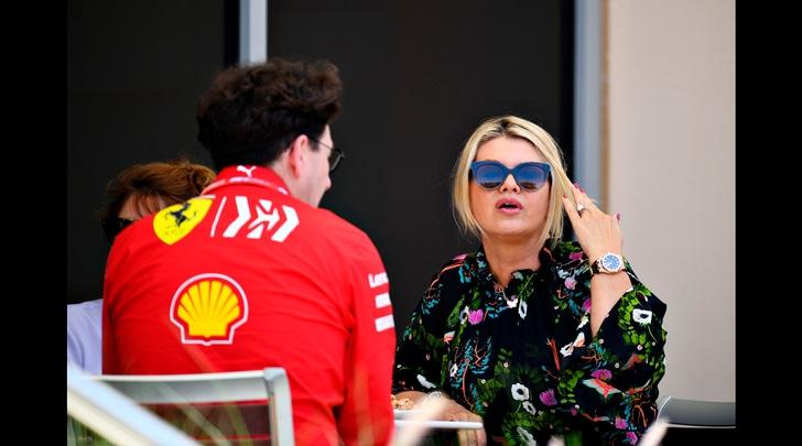 F1, Corinna Schumacher: