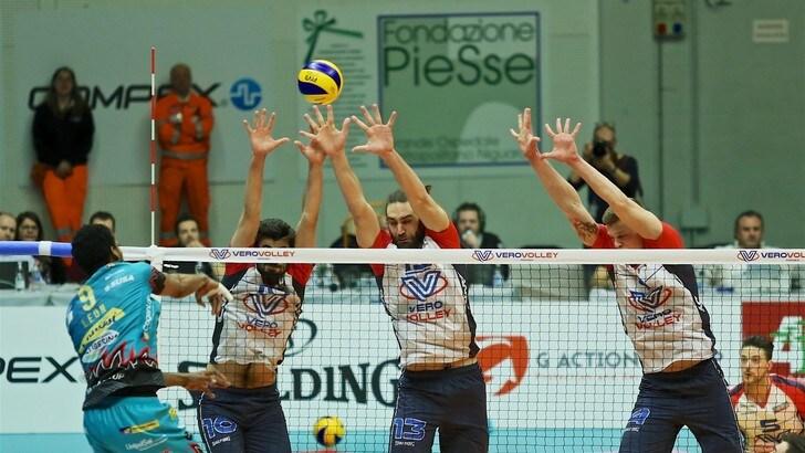 Volley: Superlega, partono i Play Off, domani Modena-Milano